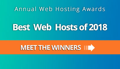 Best Web Hosts of 2018 - Meet the winners