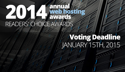 Vote For Best Web Hosting Company Of 2014 and Win an iPod Touch